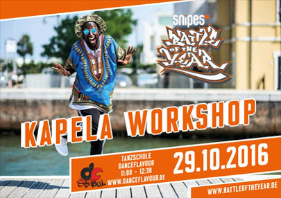 Kapela Workshop 29.10.2016