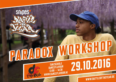 Paradox Workshop - 29.10.16